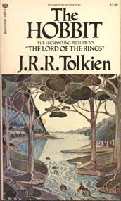 Хоббит - издание 1973 года.